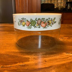 Pyrex Spice of Life See and Store Canister-Vintage